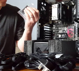 Riparazione pc desktop fisso